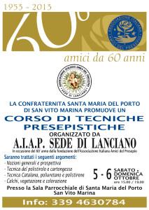 Locandina Amici del Presepio - San Vito